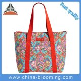 Fashion Women Waterproof PEVA Insulated Lunch Large Tote Cooler Bag