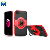 Shockproof Phone Case Back Cover with Ring and Magnetic Car Holder for iPhone 7 8