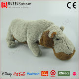 ASTM Promotion Gift Realistic Stuffed Animal Soft Hippo Plush Toy