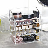 Fashion Custom Acrylic Crystal Lipstick Holder Display Organizer