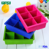 Hygenic BPA Free Silicone Mould Ice Cube Tray