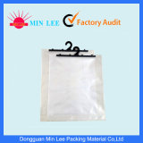 Clear Plastic Hanger Bag with Adhesive Tape (ML-HG-02)