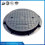 OEM Manhole Cover Ductile Iron Casting Round Sewer Manhole Cover for Driveway Drainage