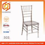 Wholesales Resin Transparent Grey Chiavari Chair