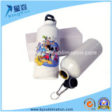 600ml Aluminum Sublimation Sport Bottle (White)
