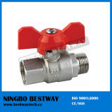 Brass Ball Valve with Butterfly Handle (BW-B50)