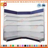 Single Sided Wall Shelf Metal Supermarket Shelves Corner Shelving (Zhs26)