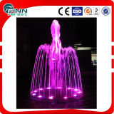 Round Garden Ornament Designers Fountain Lighting