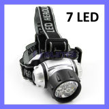 100 Lm Q5 Flashlight Bicycle Outdoor Camping Motorcycle Lamp 7 LED Headlamp