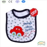 Super Cute Car Print Baby Bib Wholesale for Promotion