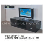 Modern Wood TV Rack with Cabinets (RX-K1009)