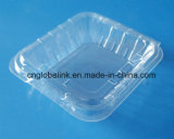 Rectangle Plastic Blueberry Packaging Box Clamshell Blister Fruit Packaging Container 125 Gram