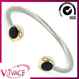 Negative Ion Bnagle, Magnetic Bangle, Stainless Steel Bangle Bracelet (IB-038BR)