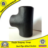 Forged Black Carbon Steel Pipe Sgp/Std ASTM Wpb a 234 Tee