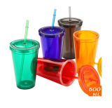 Insulated PS Plastic Tumbler Promotional Mug PT-05