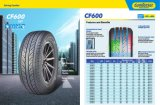 Passenger Car Tire Comforser with CF600 of The Size 195/60r16 205/60r16 215/60r16