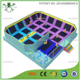 Square Outdoor Trampoline Arena with Dodgeball