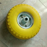 Soft Light High Elastic PU Foam Rubber Wheel (10*3.50-4)