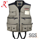 Fishing Marine Vest with Ce Certificate Approval (QF-1910)