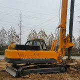 20 Meters Depth Crawler Type Hydraulic Rotary Pile Driver for Piling