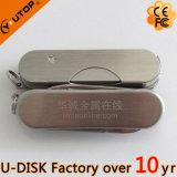 Multi-Functional Laser Logo Army Knife USB Disk (YT-1218)