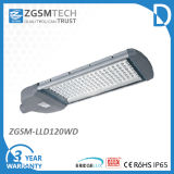 120W LED Street Light Meanwell Driver Bridgelux or Eipstar Chips