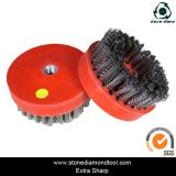 4 Inch M14 Thread Antique Abrasive Brushes for Grinding