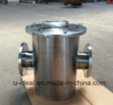 Stainless Steel Hair Collector Piping Filters