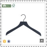 Custom Wooden Shirt Hangers for Men Wooden Pants Hanger with Clips