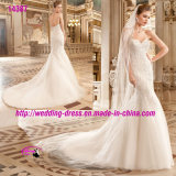 Elaborate Sophisticated Mermaid Dress Wedding with Sweetheart