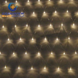 2m Width Warm White Light LED Net Light with 8-Mode