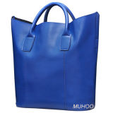 Fashion Leather Women Messenger Bag for Outdoor (MH-6064)