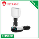 China High Quality LED Display Voltage and Current Dual USB Car Phone Charger