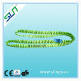 Safety Factor 5: 1 2tx1m 100% Polyester Endless Lifting Belt