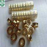 6.35*12.7*4.762mm U Groove Stainless Steel 10 Ball Yoyo Ball Gold Plated Bearing R188kk