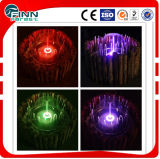 0.8 M Diameter Colorful Garden Water Fountain with LED Light