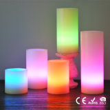 5-Piece LED Color Changing Flameless Candle Set with Remote