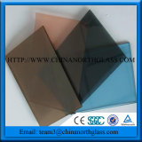 Stained Glass with Grey, Blue, Green, Bronze, Ect Color