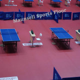 Table Tennis Courts PVC Indoor Sports Flooring with Ittf Standard