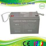 12V Deep Cycle AGM Solar Rechargeable Power Battery
