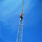 China Factory Pole Type Steel Communication Telecom Guyed Tower