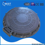 En124 C250 High Quality Ship Used Composite Precast Hinged Manhole Cover with Frame