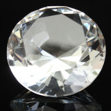Small Size Crystal Glass Cheap Diamond Paperweight for Craft