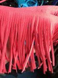 PU Leather Single Suede Fringe Tassel for Garment Decoration