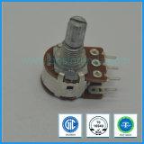 16mm Rotary Potentiometer Dual Gang with Metal Shaft B10k, B100k