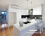Modern MDF Lacquer Kitchen Cabinet Fully Customized Kitchen (HK-L04)