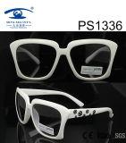 Fashion Square Frame Children Kid Plastic Sunglasses (PS1336)