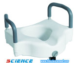 """USA Type Raised Toilet Seat with/ Handle (Height: 4"""")"""