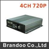 4CH 720p Car DVR, 128GB SD Card, Alarm Input, for Bus, Taxi Used
