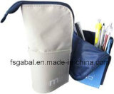 Fashion Foldable Stand Polyester Pencil Pouch Bag